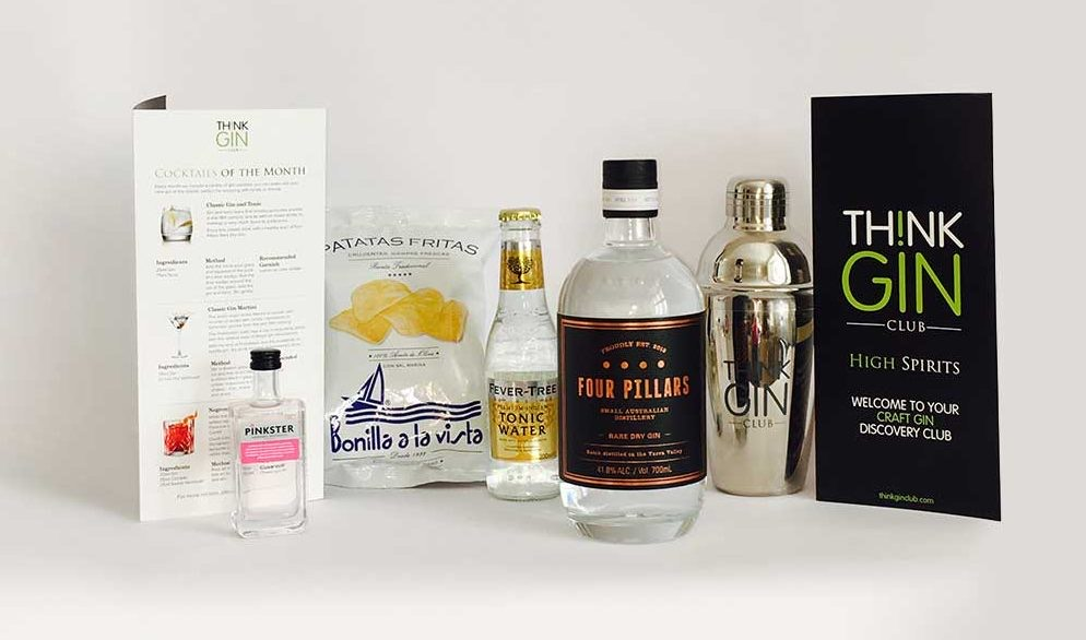 Small batch gins, Four Pillar Gin