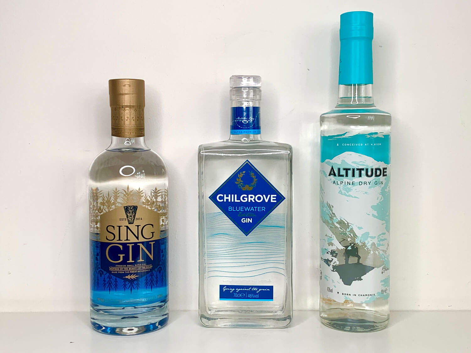 Trio of Gins