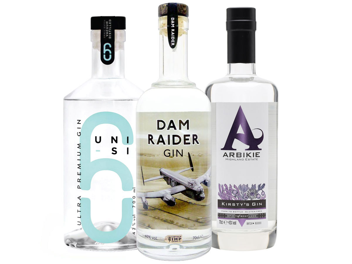Unit 6, Dam Raider & Arbikie Craft Gins