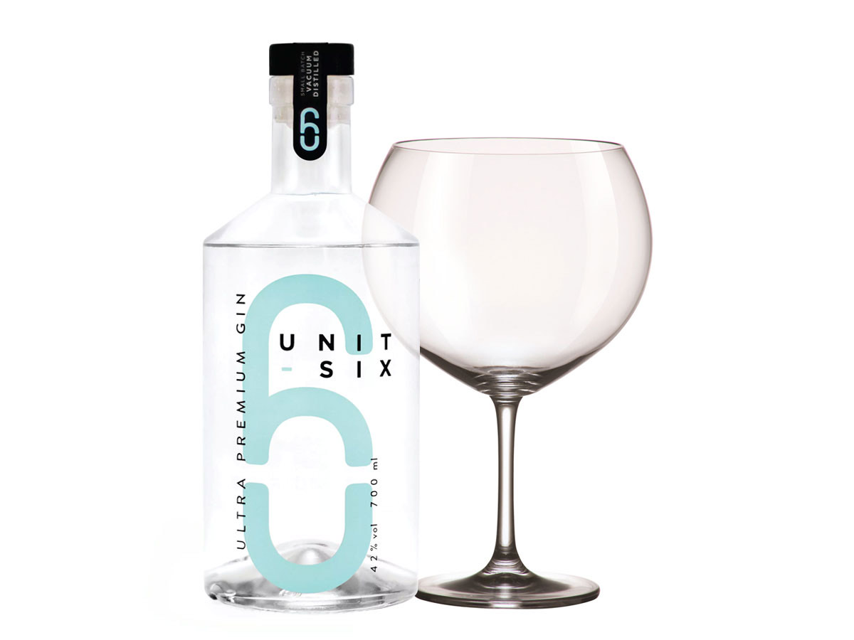 Unit 6 Craft Gin & Giant Copa Glass