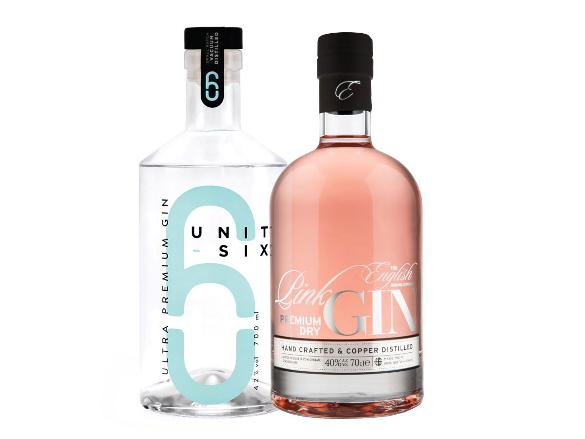 Unit 6 & Pink Craft Gins