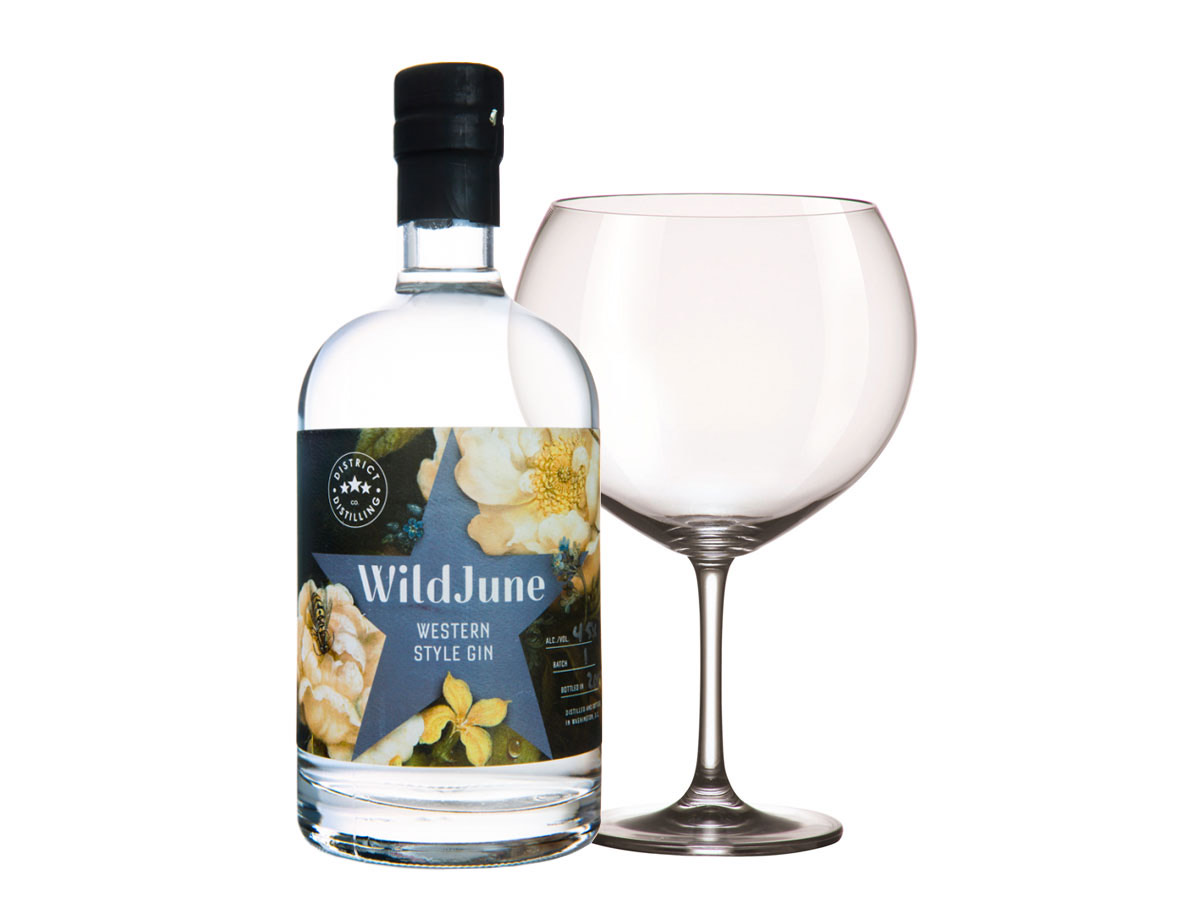 Wild June Craft Gin, Artisan Gin, Gin Club