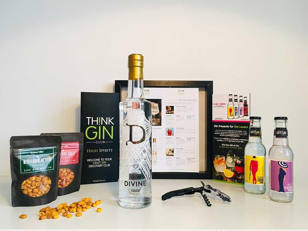 Gin Box, Artisan Gin, Gin Club