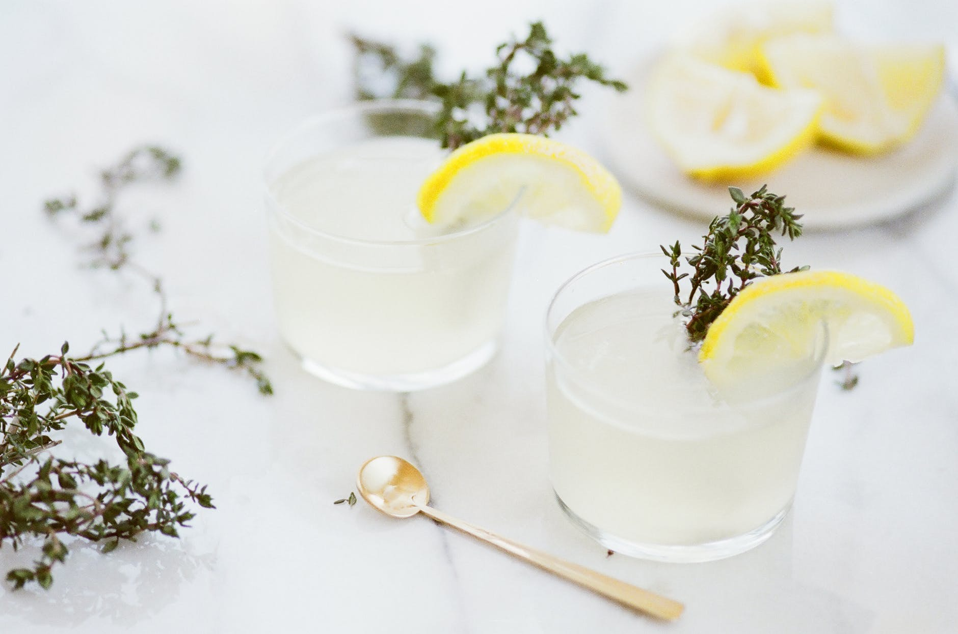 January Detox Gin Cocktails