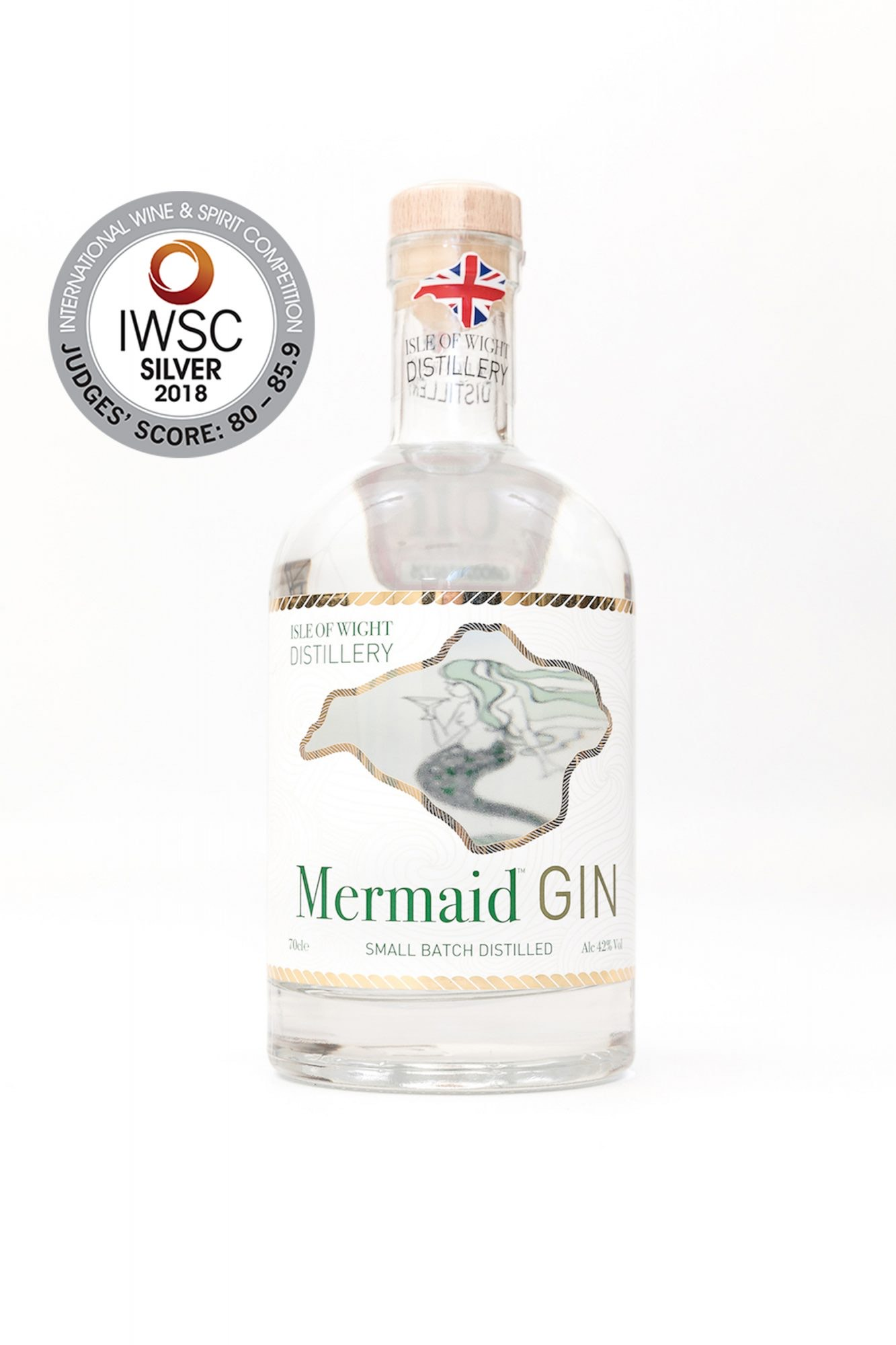 Best small batch Gin, Wight Mermaid Gin, Think Gin Club