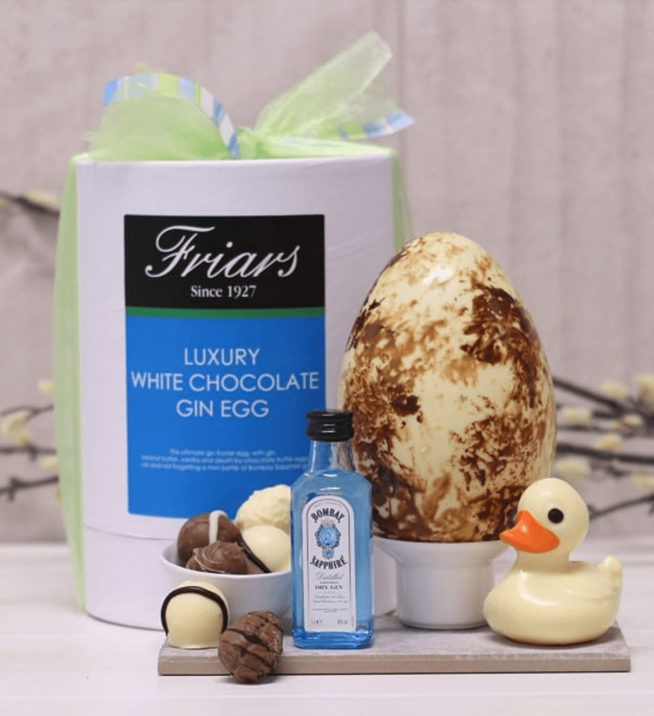 Friars Luxury White Chocolate Gin Egg