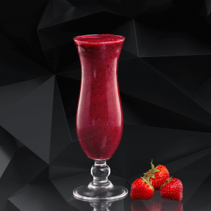 Strawberry Gin Smoothie Cocktail Recipe