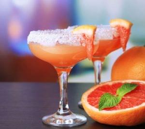 Pink Grapefruit Gimlet