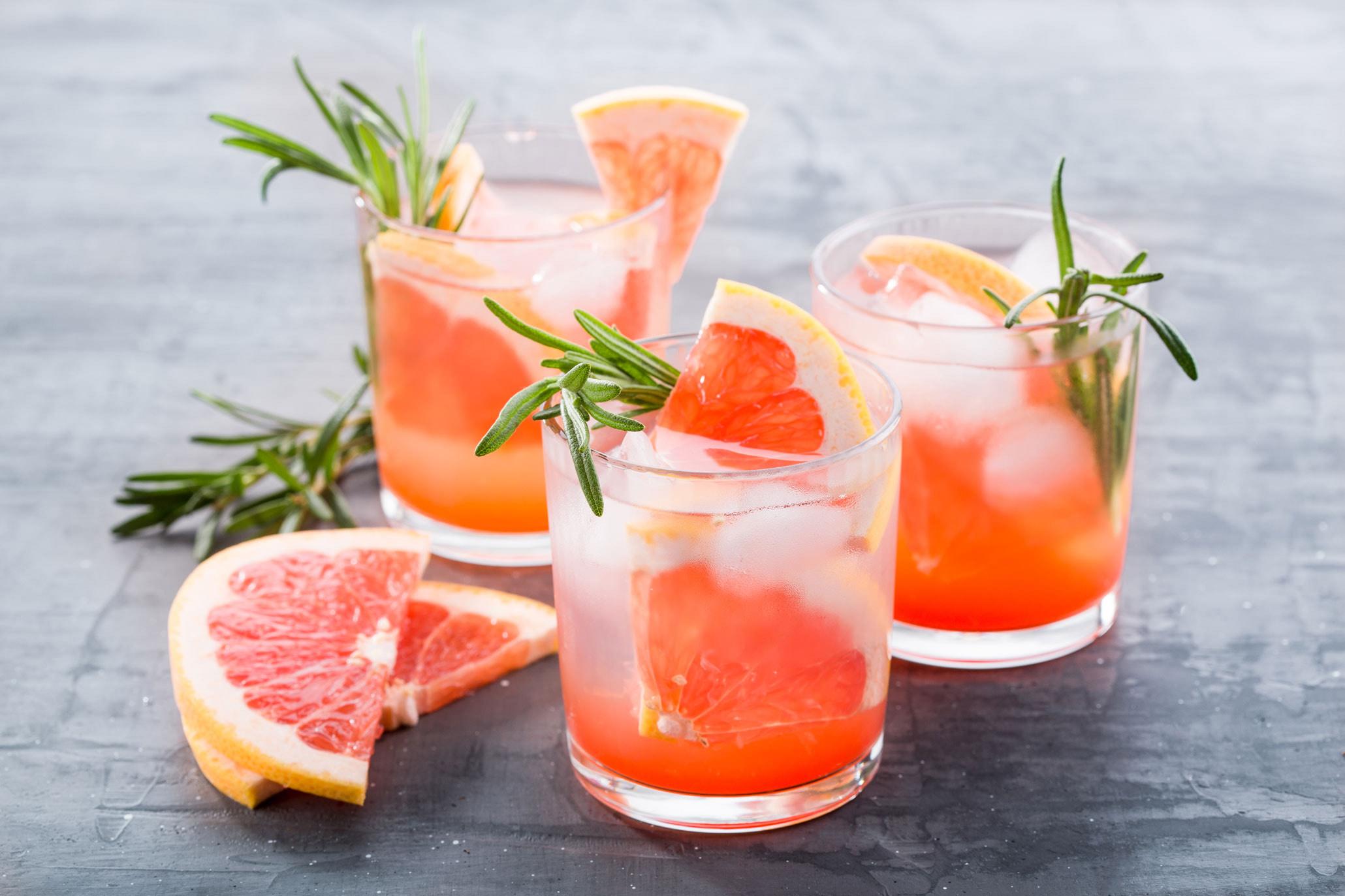Sacred Pink Grapefruit Gin & Tonic