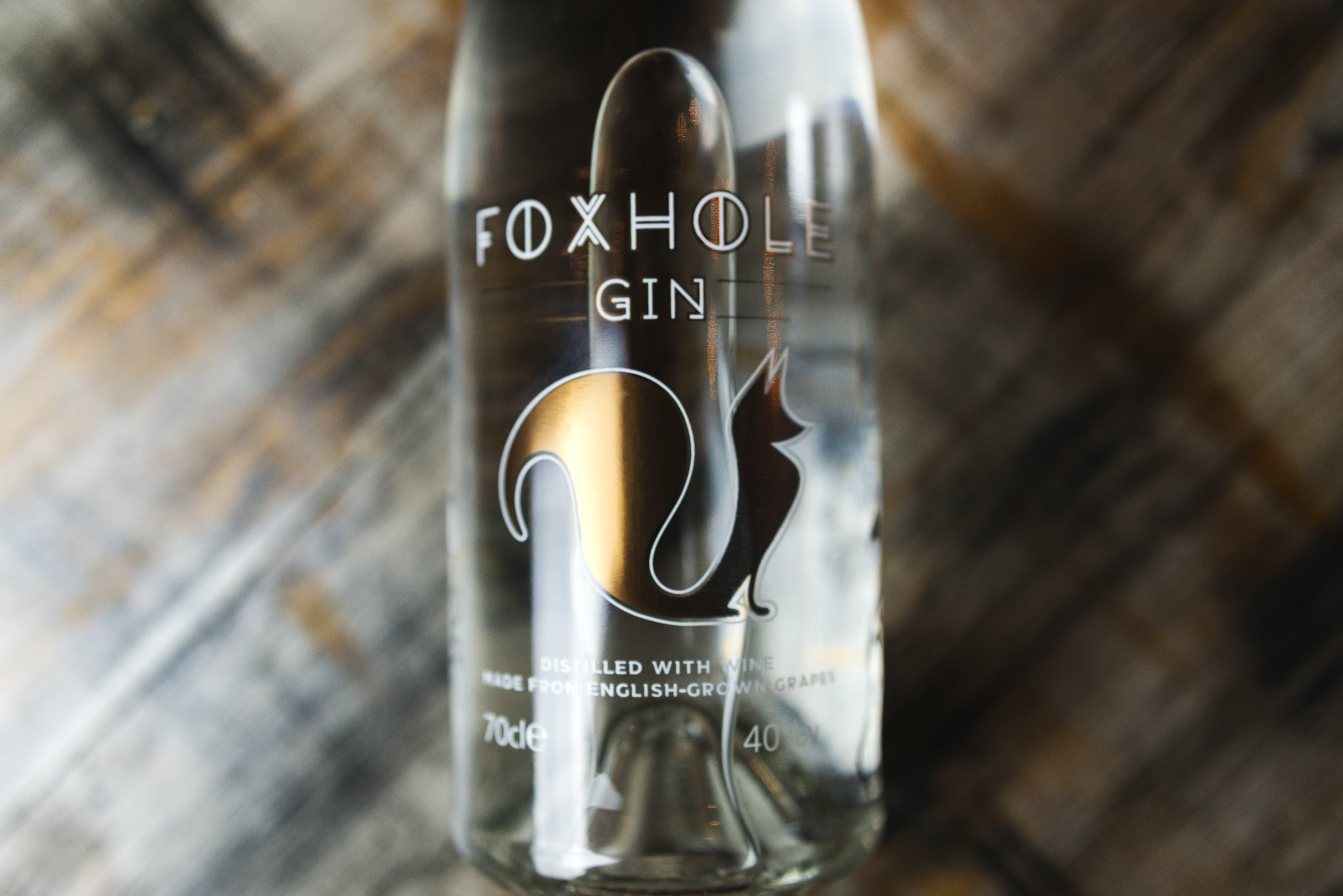 Foxhole Gin Bottle