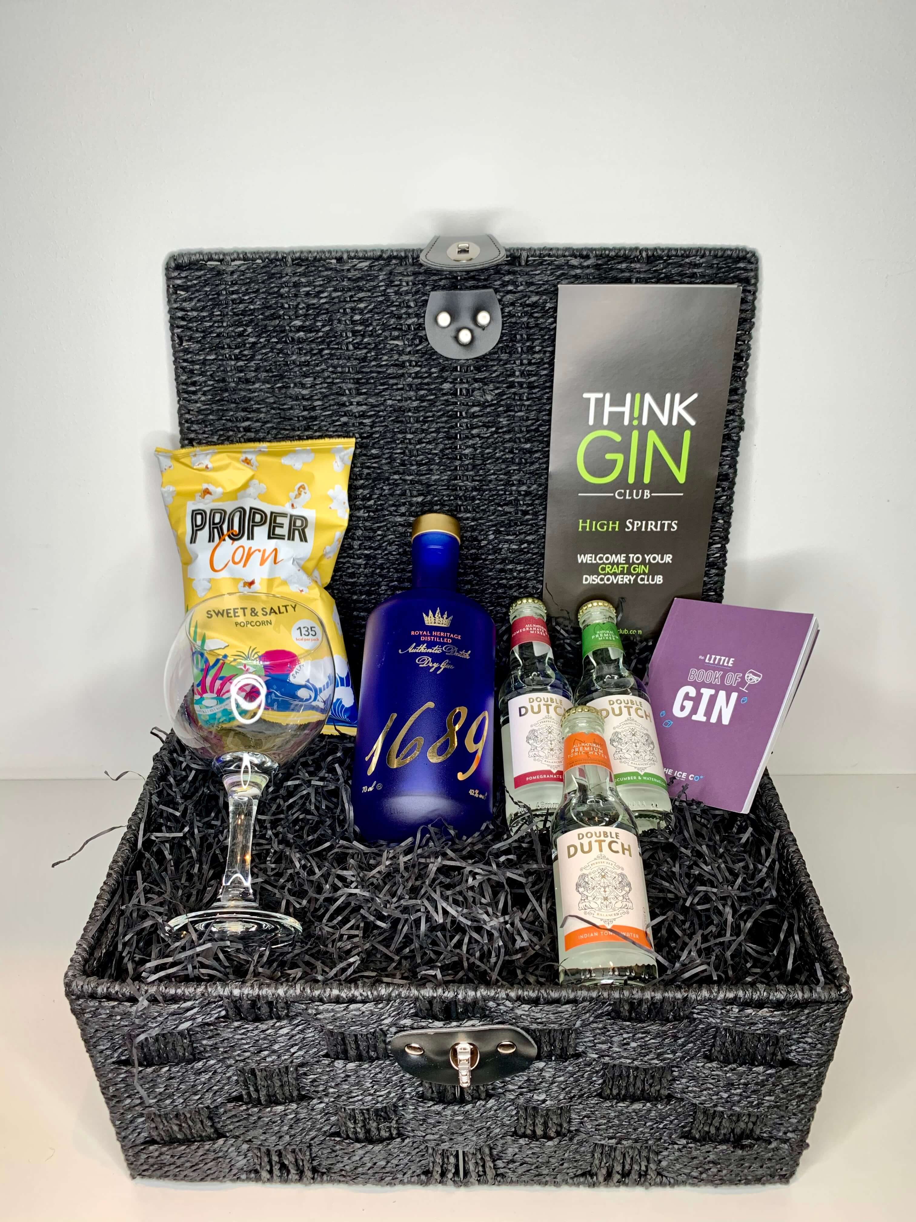 christmas gin gift hamper